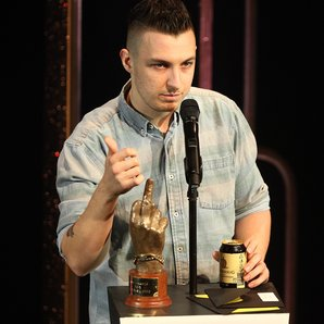 Arctic Monkeys Matt Helders at the NME Awards