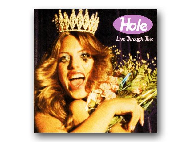 Hole - Live Through This album cover