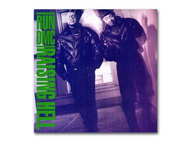 Run DMC - Raising Hell album cover
