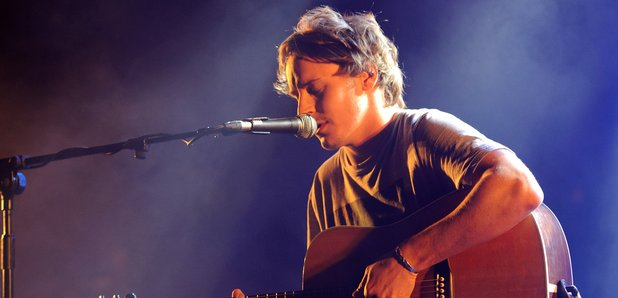 Ben Howard performing at the XFM Winter Wonderland