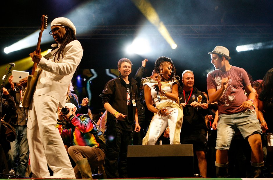 Chic - Glastonbury 2013