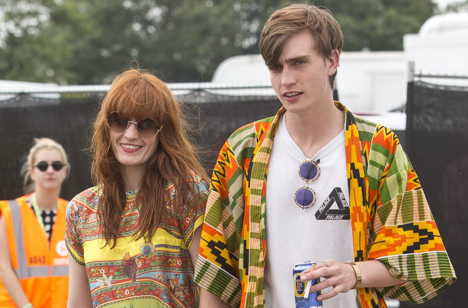 Florence Welch at Glastonbury 2013