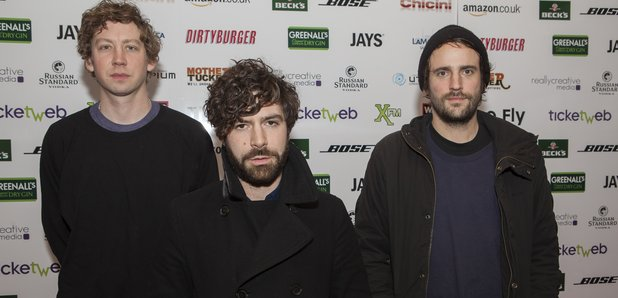 Foals at the Fly Awards 2014