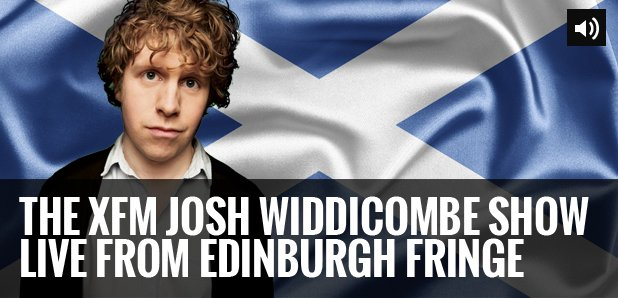 Josh Widdicombe Edinburgh Podcast graphic