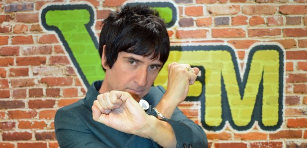 Johnny Marr at XFM August 2014