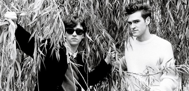 Johnny Marr and Morrissey from The Smiths
