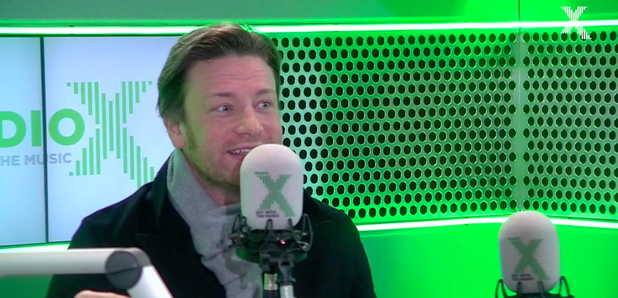 Chris Moyles Jamie Oliver