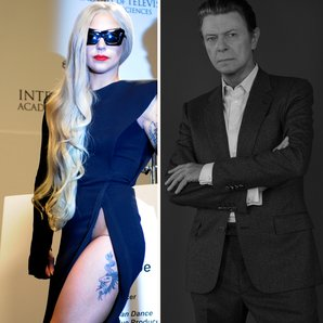Lady Gaga and Bowie