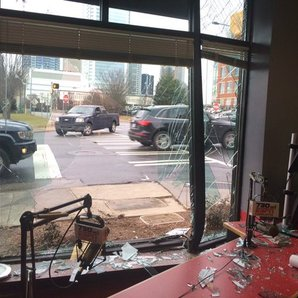 US radio station car crash