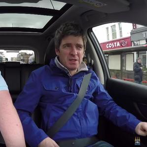 Noel Gallagher Carpool With Man City