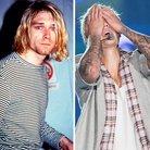 Kurt Cobain and Justin Bieber