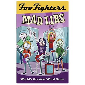 Foo Fighters Mad Libs Book