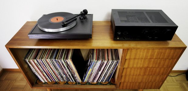 Vinyl and sideboard image