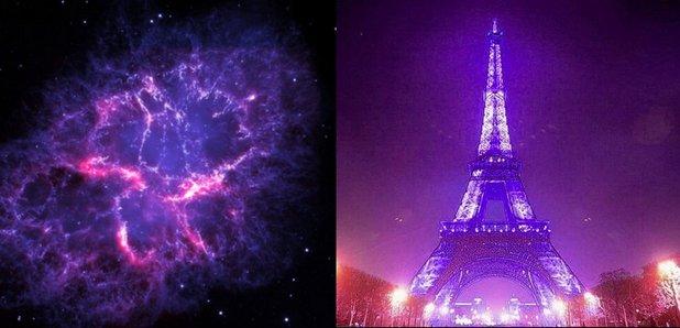 Landmarks go purple for Prince