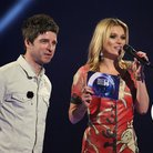 Kate Moss and Noel Gallagher At The Brit Awards