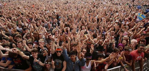 Reading Festival Crowd 2014