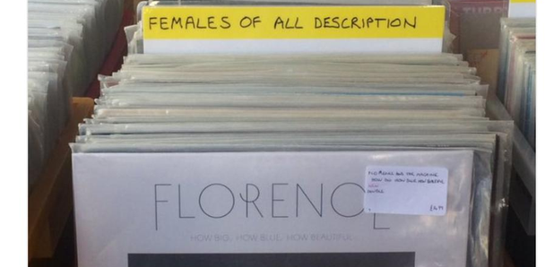 Kate Nash Record Store Sexist Categories