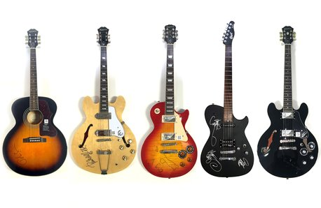 Radio X Prize Guitars