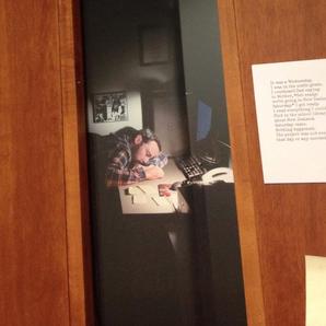 Teacher posts image of himself sleeping in office