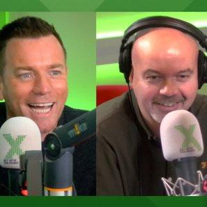 Ewan mcGregor Radio X