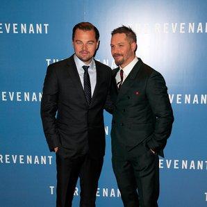 Tom Hardy and Leonardo Di Caprio