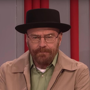 Bryan Cranston appears as Walter White for SNL