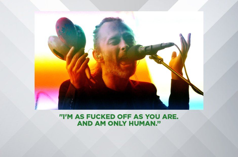 THOM YORKE ON RADIOHEAD'S ROUNDHOUSE GIGS SELLING