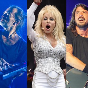 Dolly Parton Thom Yorke Dave Grohl