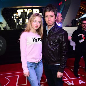 Noel Gallagher and daughter Anais Gallagher
