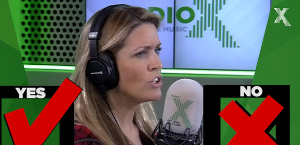 Pippa played yes no game Chris Moyles