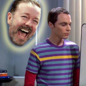 Ricky Gervais Big Bang Theory