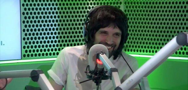 Serge Pizzorno Kasabian Radio X 17 March 2017