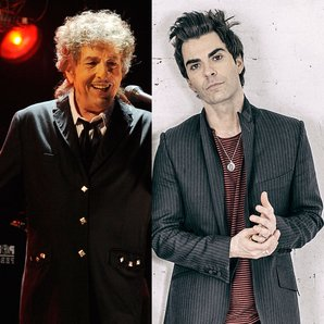 Bob Dylan and Sterophonics Kelly Jones