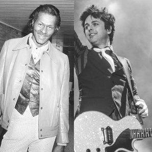 Chuck Berry and Green Day's Billie Joe Armstrong