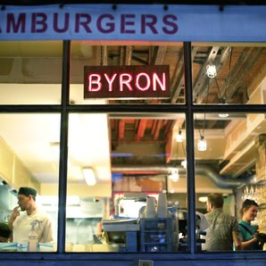 Byron Burgers restaurant London