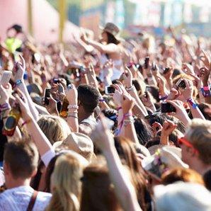 festival, crowd