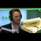 Chris Pratt talks fingering sandwiches on the Chri