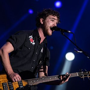 Royal Blood singer Mike Kerr