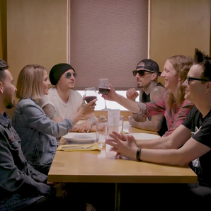 Blink 182 and Linkin Park go on awkward first date
