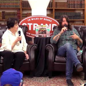 Dave Grohl and his Mother Virginia at The Strand B