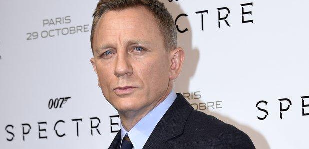 Daniel Craig at James Bond premiere 2015