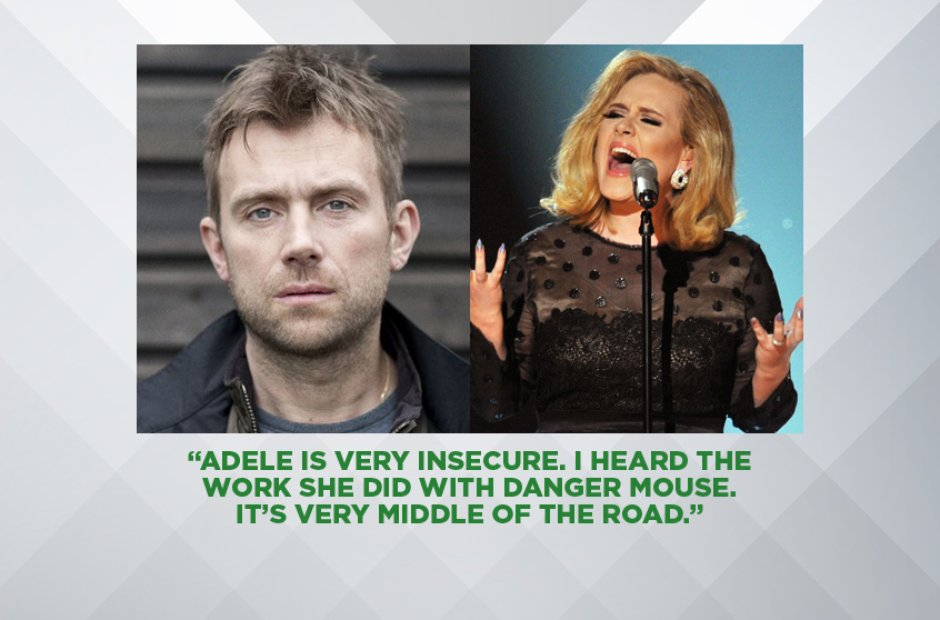Damon Albarn on Adele