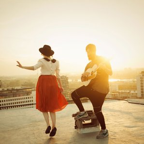 rooftop, music