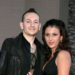 Chester Bennington and wife Talinda