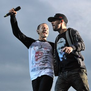 Mike Shinoda and Linkin Park Chester Bennington