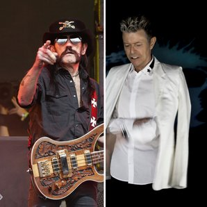 Lemmy and Bowie