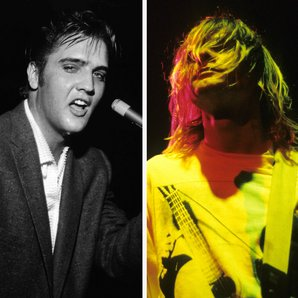 Elvis and Nirvana's Kurt Cobain