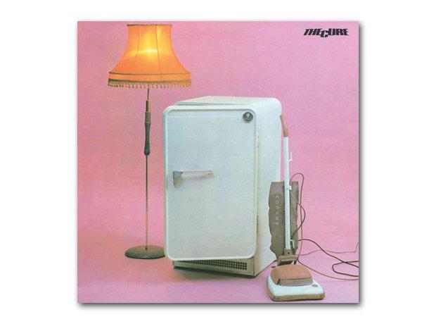The Cure - Three Imaginary Boys album cover