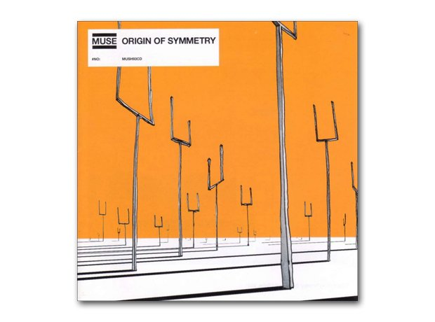 Muse - Origin Of Symmetry album cover