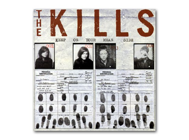 The Kills - Keep On Your Mean Side album cover